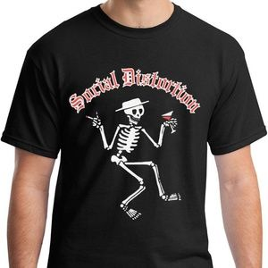 Social Distortion Skelly T-Shirt Punk Rock
